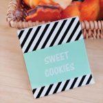Sweet cookies xanh